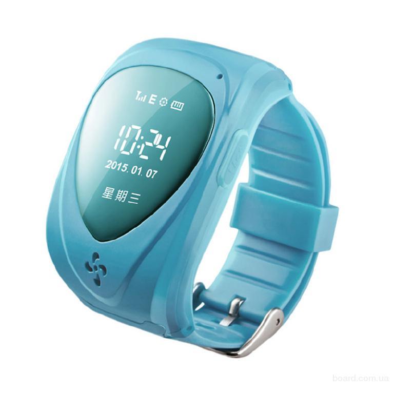 Детские часы телефон с GPS трекером RF-V22. Батареи хватает в режиме работы до 3 дней. Датчик снятия часов.