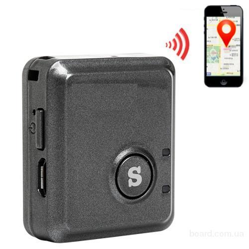 Супер мини GPS трекер RF-V8S. GPS точность 10 метров. Батарея 520mAh
