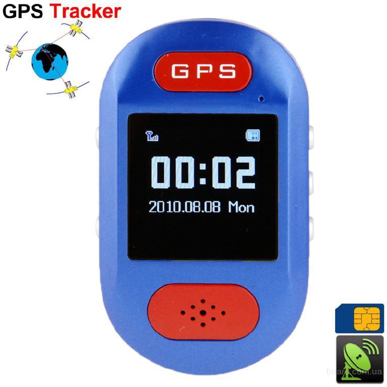 Портативный GPS трекер Mango. Батарея 750mAh. ЖК дисплей 1.44