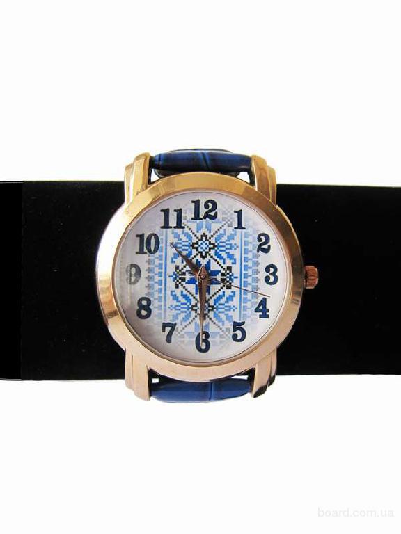"""Годинник """"Доріжка"""" блакитний"""