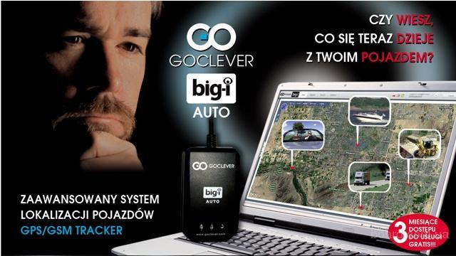 Автомобильный GPS трекер Big-I Auto Goclever. Польша
