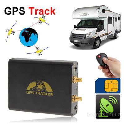 Автомобильный GPS трекер B40 с пультом управления. Резервная батарея на 800mAh