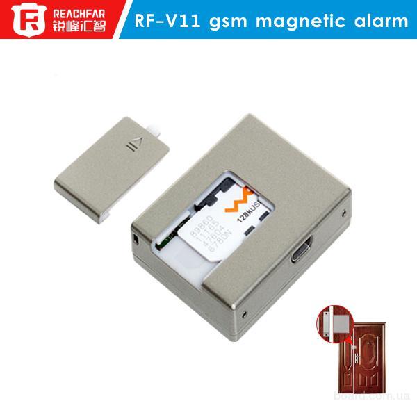 GSM трекер RF-V11, сигнализация открытия/закрытия двери, датчик вибрации