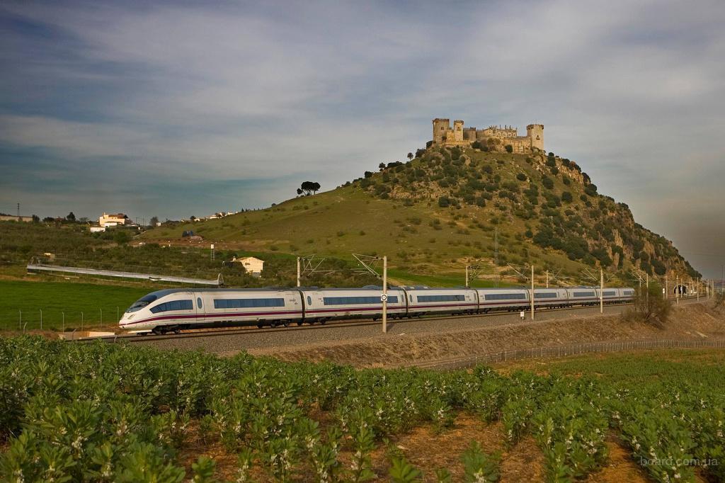 туры на скорых поездах по Европе, Мадрид-Лиссабон 7н + авиа