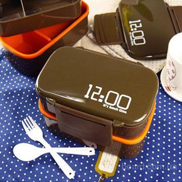Ланч-бокс 12:00 it's lunch time с неотразимым дизайном понравится каждому!