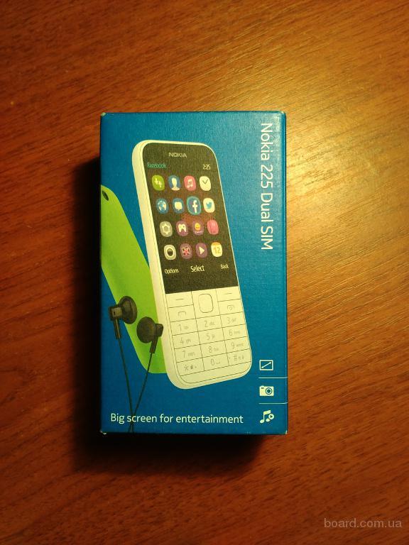 Nokia 225 black на Гарантии, в Отличном состоянии