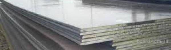 Лист легированный ст 09Г2С, 160 мм