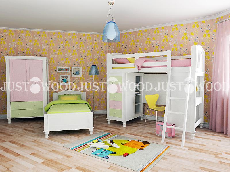 Кровать-чердак Гуффи