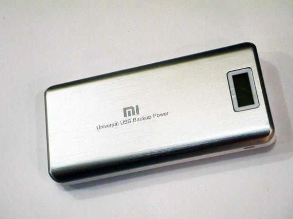 Power Bank Xiaomi 20800mAh+LCD-экран