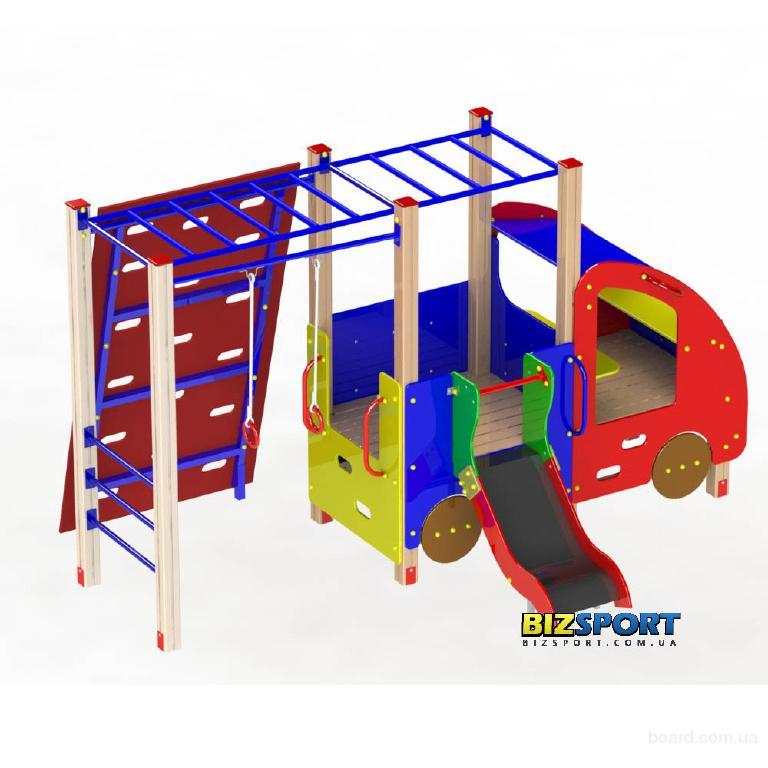 Игровой комплекс для детского сада Авто-гимнаст