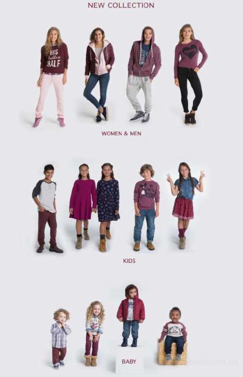 Продажа оптом детской, женской и мужской одежды бренда FOX, Израиль