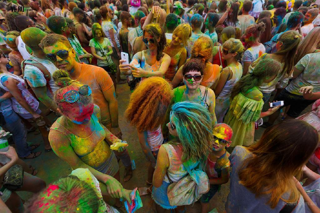 Краска Гулал, Холи, Зеленая, опт и розница