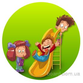 Детский сад с развивающими занятиями для детей.