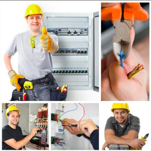 Услуги электрика  и сантехнира