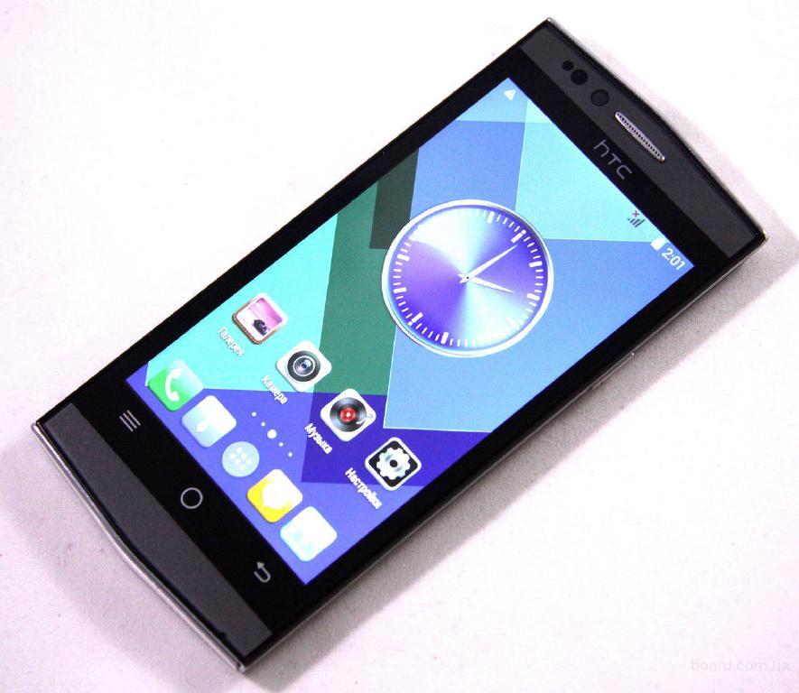 реплика HTC V12 2SIM2000Мгц4. 5А-GPS3Gи4Gмощный динамик и батарея