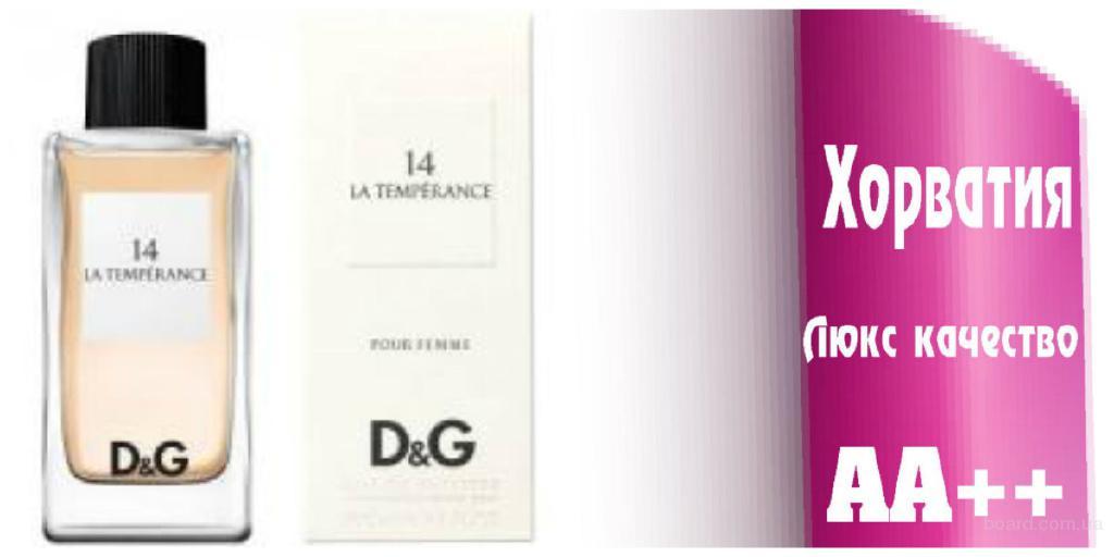 Dolce &Gabana 14 La Temperance Люкс качество ААА++ Оплата при получении Ежедневные отправки     Dolce &Gabana