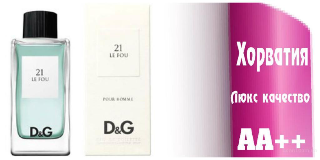 Dolce &Gabana  21 Le Fou Люкс качество ААА++ Оплата при получении Ежедневные отправки     Dolce &Gabana