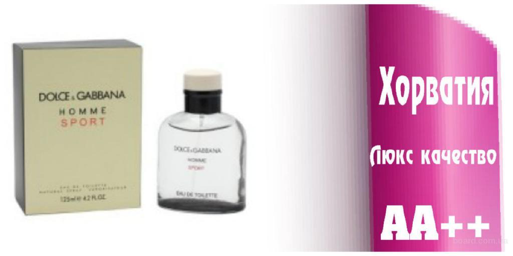 Dolce &Gabana Homme Sport Люкс качество ААА++ Оплата при получении Ежедневные отправки     Dolce &Gabana