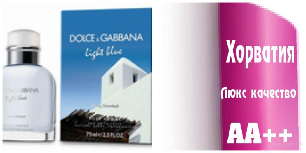 Dolce &Gabbana Light Blue Living Stromboli  Люкс качество ААА++ Оплата при получении