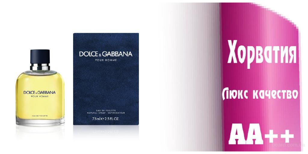 Dolce &Gabbana pour Homme   Люкс качество ААА++ Оплата при получении Ежедневные отправки     Dolce &Gabbana