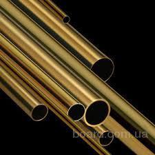 Труба латунная Л63  16х1х4100