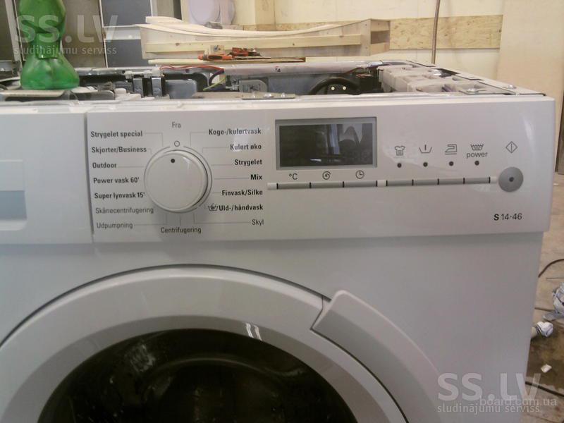 Ремонт електроних модулей посудомоечних и стиральних машин.