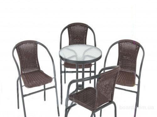 Cадовая мебель Bistro Wenge