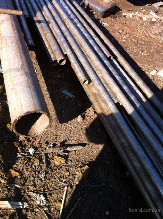 Нержавейка, трубы ф24 и 30, длина 7 метров, лежалая.