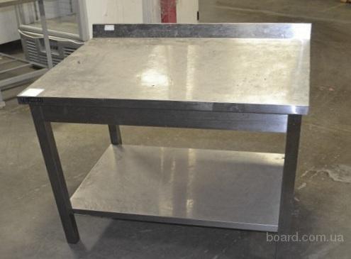 Продам стол производственный с бортом и полкой бу