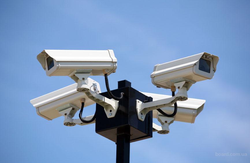 Установка видеонаблюдения и видеодомофонов