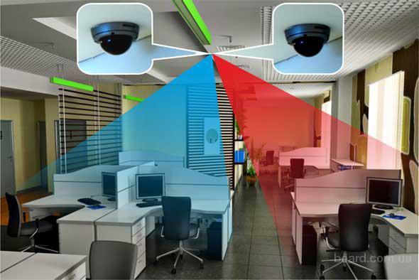 Установка видеонаблюдения (аналоговые и цифровое)