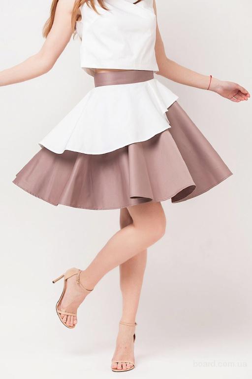 Расклешенная юбка в интернет магазине Aximoda.