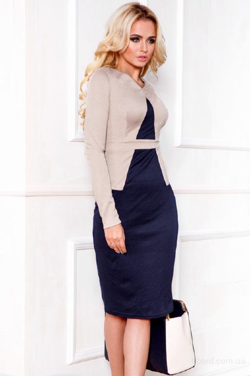 Деловое женское платье в интернет магазине Aximoda.