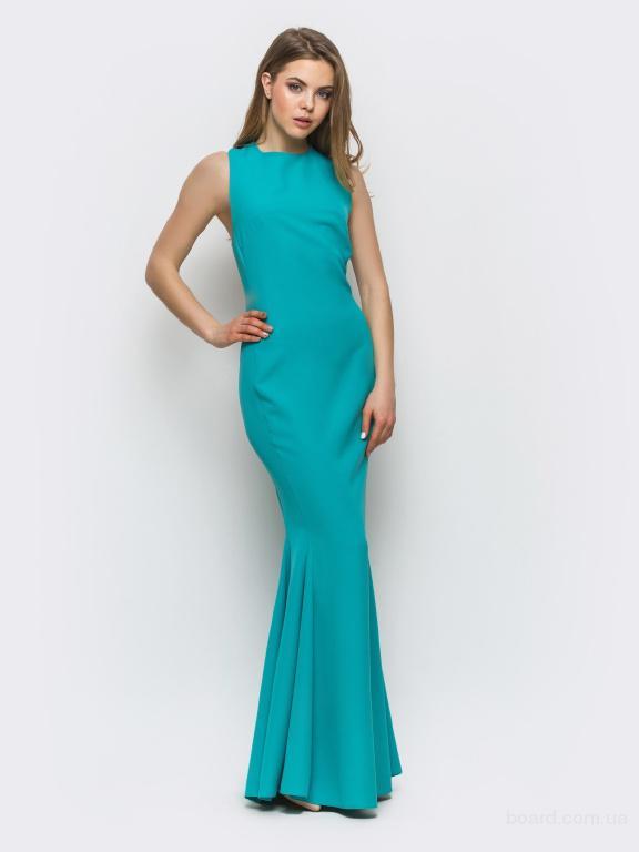 Атласное вечернее платье в интернет магазине Aximoda.