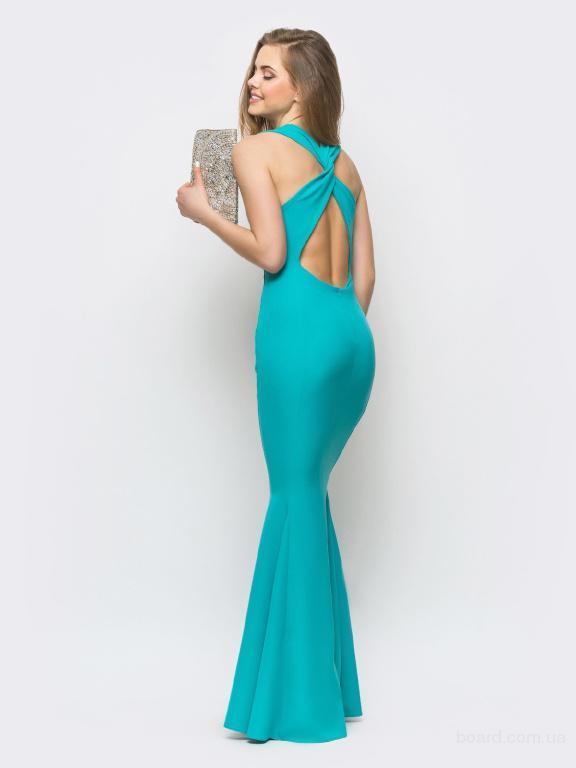 Длинное вечернее платье в интернет магазине Aximoda.
