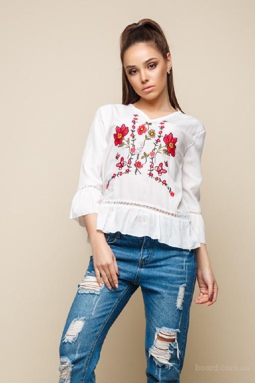 Блузка вышиванка в интернет магазине Aximoda.
