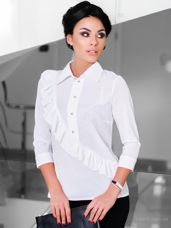 Деловая шифоновая блузка в интернет магазине Aximoda.