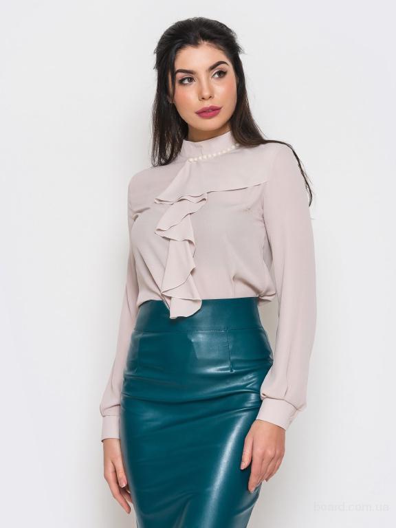 Женская блузка в деловом стиле в интернет магазине Aximoda.