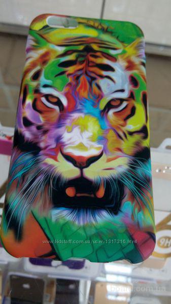 Светящийся в темноте чехол iPhone 5, 6, 6+ Звери Animal Пластиковый  Подбор стекол и чехлов Доставка по Украине     Опт и розница  http://vk.com/id126