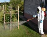 Уничтожение комаров, клещей, мух на открытых участках Днепропетровск