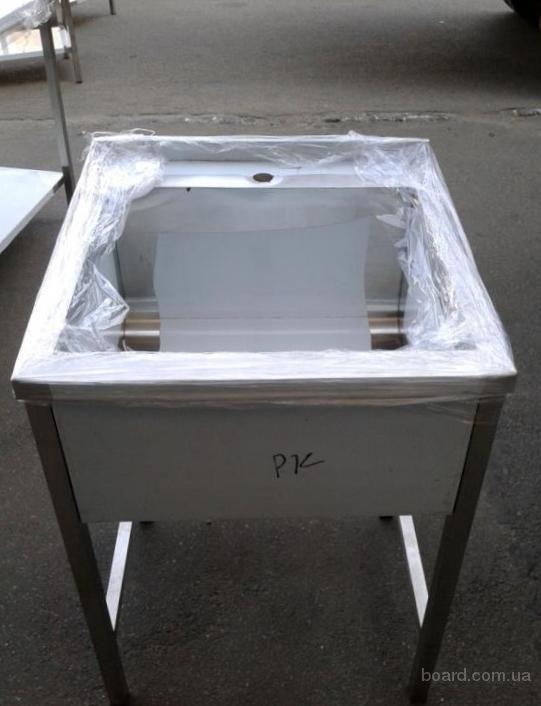Мойка производственная 1но секционная для кухни