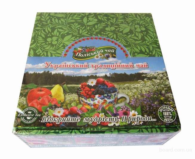 """Чай """"Український сувенір"""" Хорека ТМ """"Поліський чай"""""""