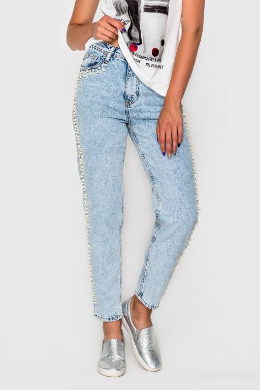Стильные джинсы-мом в интернет магазине Aximoda.