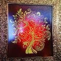 """Картина бисером """"Дерево изобилия"""""""