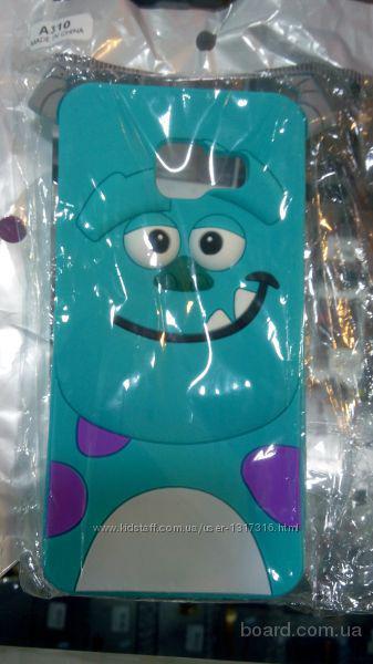 Чехол накладка с рисунком и стекло Samsung   A310 A3-2016  Подбор аксессуаров и защитных стекол, книжек, чехлов    Опт и розница    http://vk.com/id12