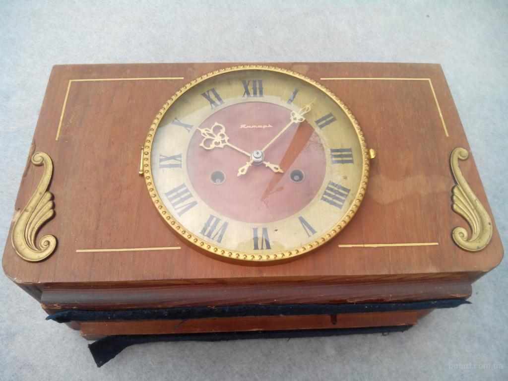 Советские механические настольные часы с боем ( Робочие )