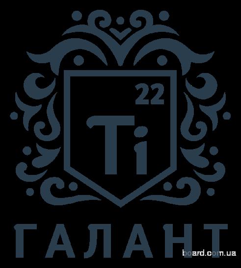 Титановые прутки (круги) ВТ6