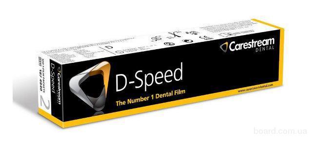 Стоматологическая пленка Carestream (Kodak) Dental D-Speed Film