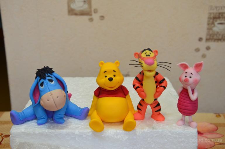 Мастер-класс для детей,  по работе с мастикой, изготовление цветов и фигурок из мастики.