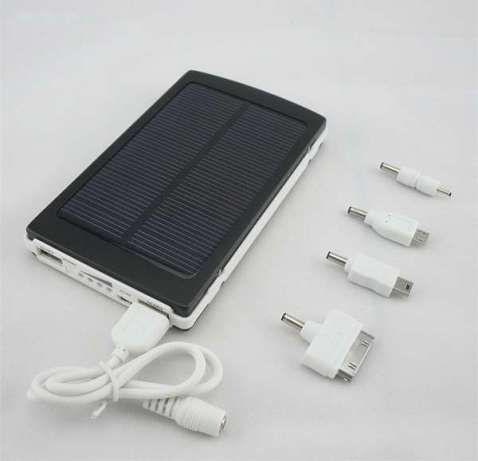 Акция ! Solar Power Bank 20000 mAh + 5 переходников в Подарок !